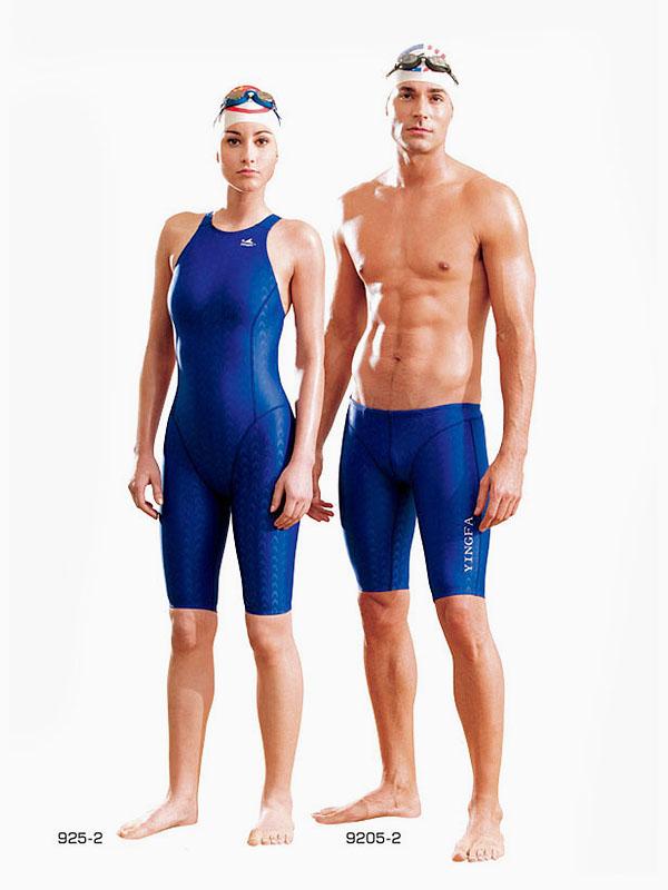 9dcd0f4ac4 YINGFA swimwear for boys men sharkskin competition jammer Y-9205 ...