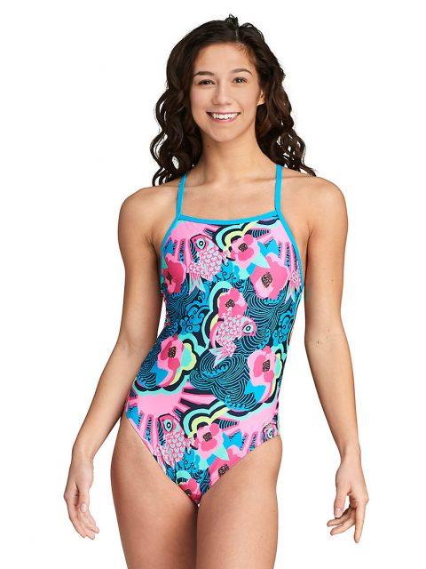 Speedo The One Printed | Blue Pink 7719226-474 - Speedo Swimsuit | Training Swimwear